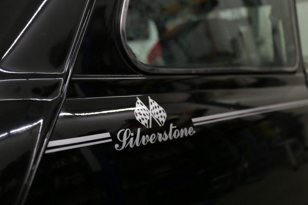 Auto folieren MINI SILVERSTONE oracal 970 Honeycomb black Garage Deluxe