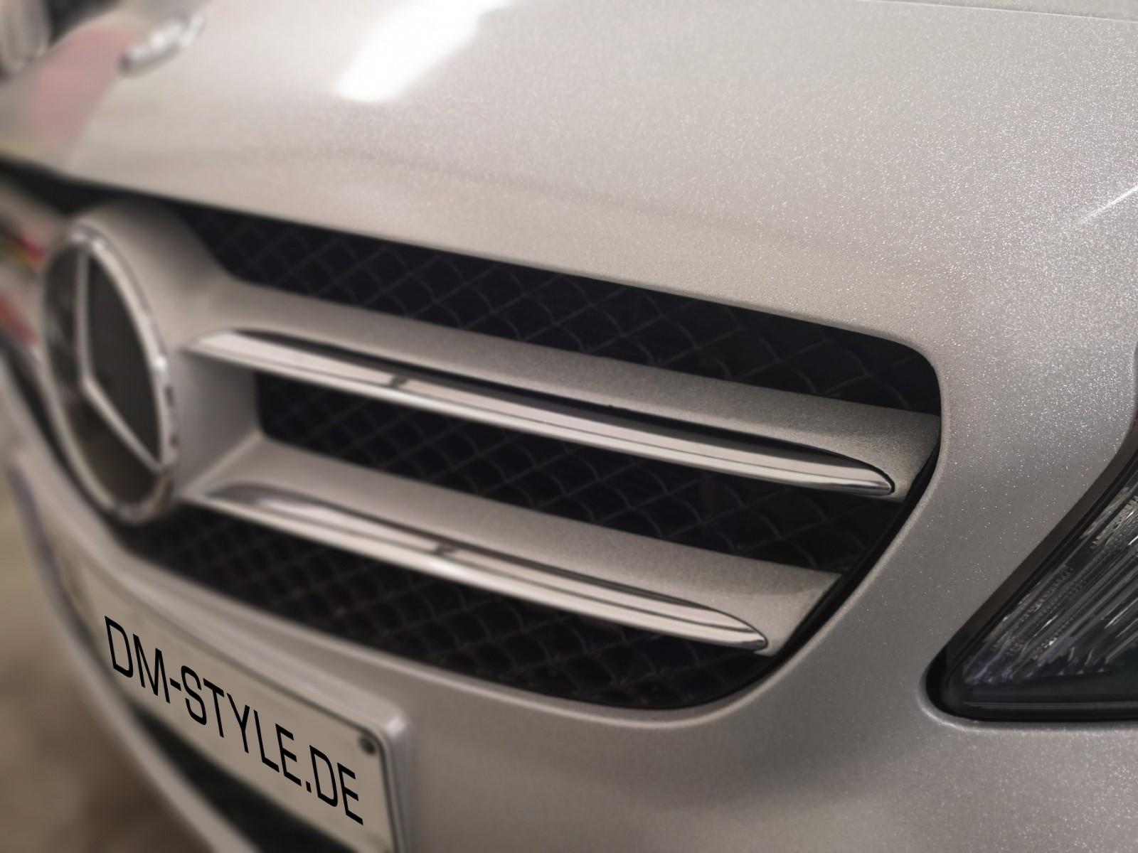 Auto Folierung Mercedes A-Klasse Avery Supreme Diamond silver