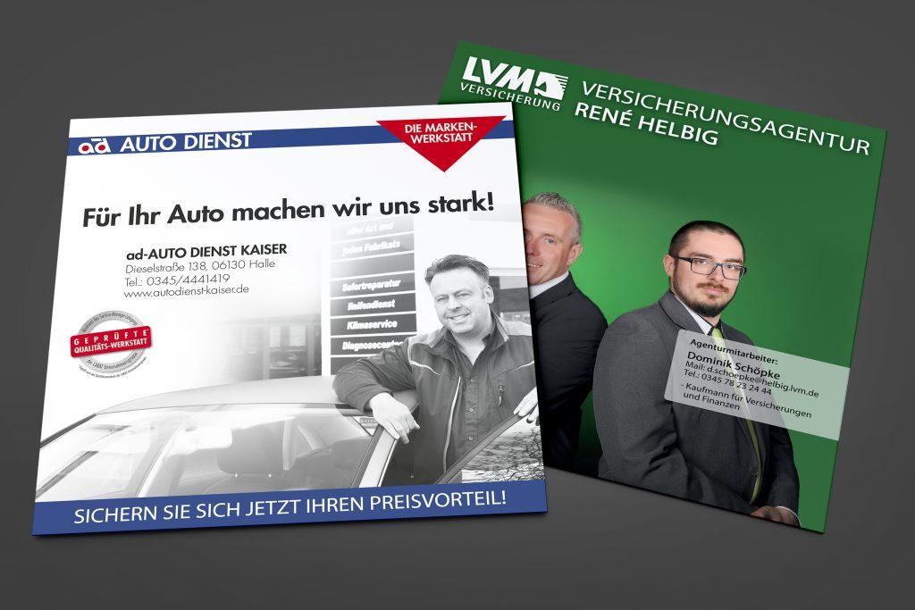 Druckprodukte, Werbung, Printprodukte, Flyer, Digitaldrucke