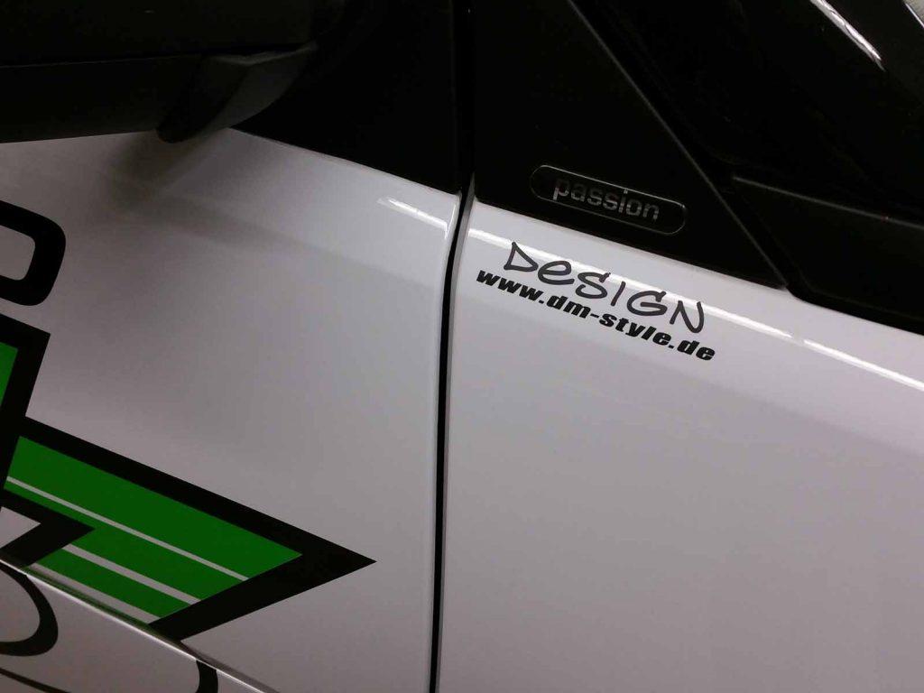 Auto folieren, Autowerbung, Fahrzeugbeschriftung, Fahrzeugwerbung Smart Elektro Scholz GmbH